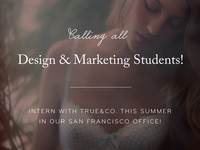 True&Co. is looking for a summer intern!