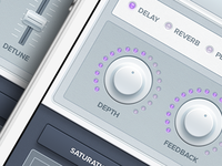 iPhone Synth App UI Remix