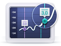 Graph Icon, Data Visualization
