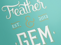 Feather & Gem