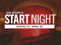 Jon Acuff Start Night