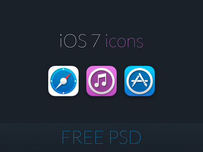 Download Redesigned iOS 7 Icons