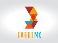 Barrio.mx logo sketch