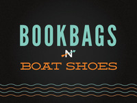 Bookbags n boat shoes