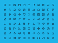 Flaticons - Stroke Set Preview