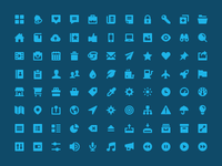Flaticons - Solid Set Preview