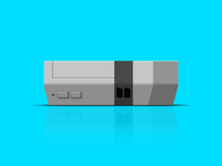 Nintendo Entertainment System Vector