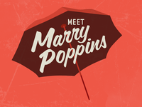 Meet Marry Poppins - logo concept 2