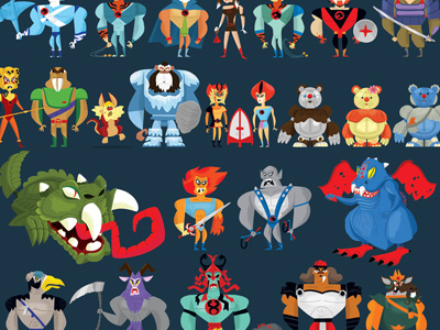 Thunder  2012 on Dribbble   Thundercats Compendium By Christopher Lee