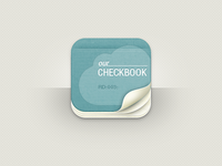 Our Checkbook App Icon