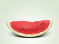 Watermelon slice - icon
