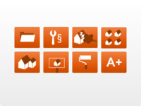 Icons for DIY site