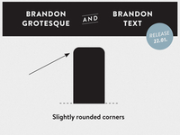 Brandon Grotesque & Brandon Text - Rounded