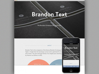 Microsite: Brandon Text