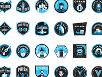 Vulture Badges Full Set