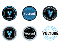 Vulture Series Logos / Unused
