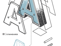 The Exploded Alphabet / A