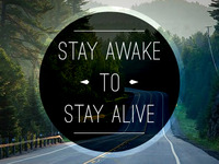 5 Words - Stay Awake to Stay Alive