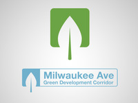 Milwaukee Ave Green Dev Corridor Logo v2