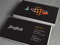 firefish Business Cards