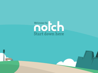 Notch's main banner