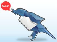 Oragami Tweet Bird