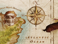 Ghost Head Cove Map detail — Compass