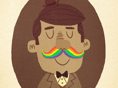 Rainbowstache