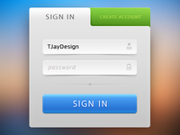 Sign-In form.