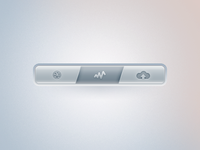 Dribbble Navigation Bar.