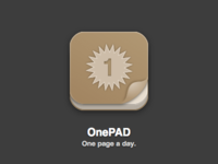 OnePAD Icon (Revised)