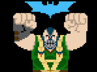 Bane as Wreck-It Ralph or vice versa