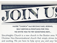 Storyheights Church Invite Flyer