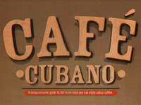 Cafe Cubano Guide 1