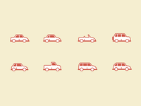 Car Body Type Icons