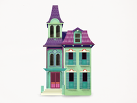 Pocket Victorian House