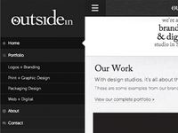 outside in responsive navigation