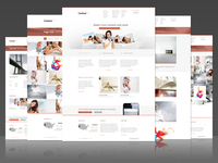 Contour Minimal Business or Creative Template Design