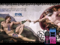 Stain Tattoo Ad