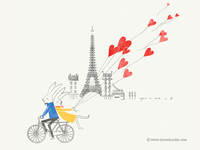 Love Around The World @Paris