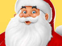 Marabou Chocolate: Santa Claus (Detail)