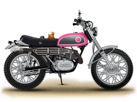 Dribbble Motorcycle