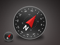 Compass Android Icon