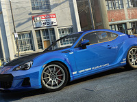 Subaru BRZ Widebody Custom