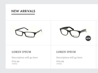 Glasses New Arrivals