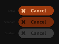Cancel Button States