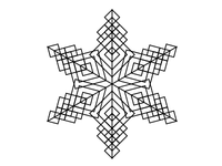Snowflakes for the Holiday Card