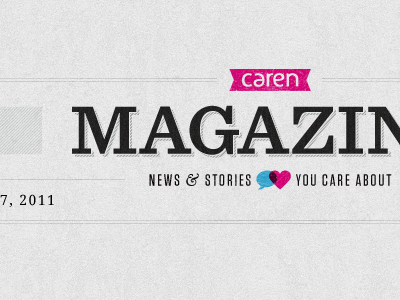 Dribbble_caren_magazine_logo