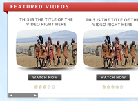 Video Site Template