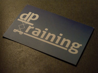 dp Training Business Card